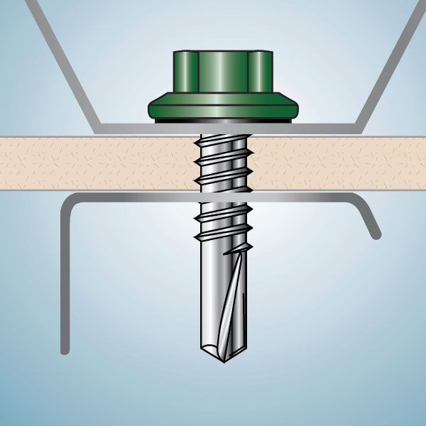 Purlin Screw App Color Illustration Web